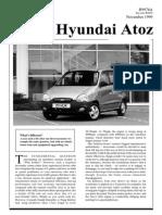 Hyundai Atoz Nov99 Testextra