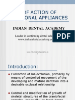 Mode of Action of Functional Appliances / orthodontic courses by Indian dental academy