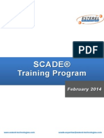 SCADE Training Catalogue 2014