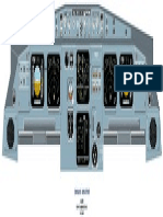 A-320 FRONT PANEL