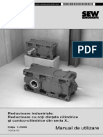 Ruductor cilindric - manual