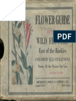 Flower Guide by Chester a. Reed