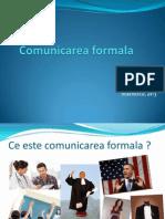 Comunicarea formala