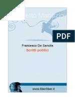 De Sanctis Scritti Politici