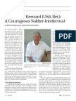 Col. Carl F. Bernard (USA Ret.):