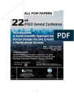 IFSSO Call for Papers