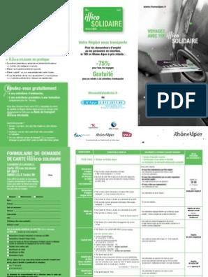 carte illico solidaire renouvellement en ligne Dépliant_illico_Solidaire_2013_tcm 31 74288.pdf | Travail | Politique