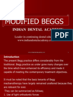Modified Beggs / orthodontic courses by Indian dental academy