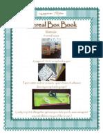 Cereal Box Book Tutorial