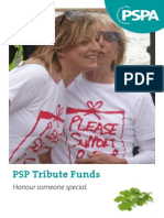 PSP Tribute Funds Web
