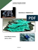REFERAT mineralogie