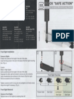 Glock Front Sight Mounting Tool Instruction Booklet