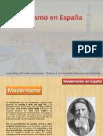 Modernismo en España
