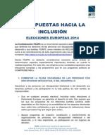 8_Propuestas_Europeas_FEAPS_14-05-14