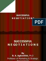 Successful Negotiations Abridged