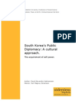Thesis Mix Method Korea Diplomacy Soft Power