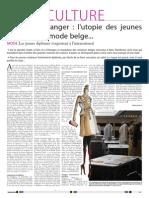 Enquête sur les jeunes créateurs belges