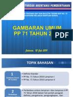 Gambaran Umum PP 71 Tahun 2010