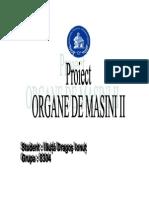 Proiect Organe de Masini 2