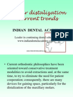 Molar Distalisation / orthodontic courses by Indian dental academy