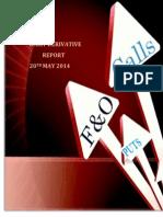Derivative Report 20 MAY 2014