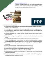 145606039 Kumpulan Contoh Judul Skripsi Akuntansi Keuangan Terbaru 2013