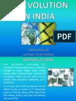 IT Revolution in India