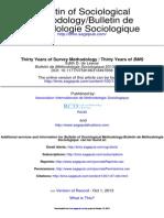Bulletin de Méthodologie Sociologique 2013 de Leeuw 47 59