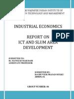 Industrial Economics Report