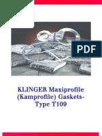 T109 Maxiprofile Klinger
