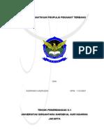 Tugas Praktikum Propulsi Pesawat Terbang