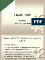 Revisao Para ENADE 2012_Estatística