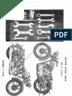 Triumph  350cc-HW-OH Valve Owners Manual