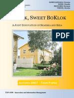 BoKlok, Sweet BoKlok - Term Paper