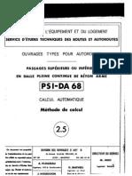(2) PSI-DA 68 - Méthode de Calcul