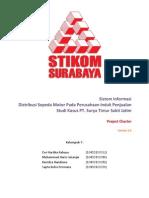 Project Charter - Sistem Informasi Distribusi Barang