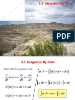 Integration by Part