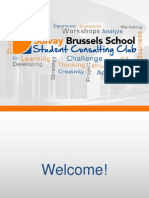 Slides Recruiting Solvay Student Consulting Club