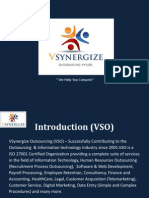 VSynergize Outsourcing Pvt Ltd (Company Profile)