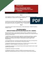 Program Mera 2013