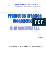 Practica Management - SC Md Tour Expres SRL