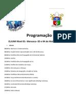 Programação de Meruoca