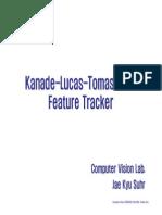 Kanade Lucas Tomasi Tracker