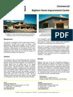 SolarWall Case Study - BigHorn Colorado (solar air heater system)
