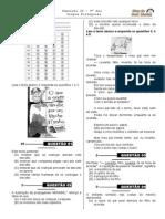 Simulado 20 (Port. 9º Ano - Blog Do Prof. Warles)