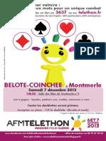 Belote Coinchee Telethon