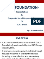 Prateek Mishra - Icici Foundation