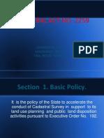 Cadastral Act No 2259
