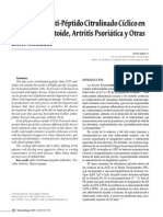 Anticcp 3 en enfermedades artriticas