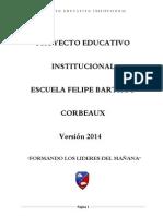 Pei Esc. Felipe Barthou 2014